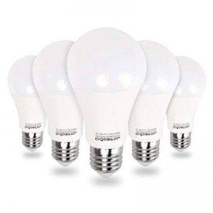 Aigostar Lot de 5 Ampoules LED Standard Culot E27, 12W Consommés Équivalent 100W [Classe énergétique A+] [Classe énergétique A+] de la marque Aigostar image 0 produit