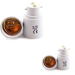 Aistuo -- Lot de 2 - Adaptateur de Douille B22 vers E27 - Normes CE RoHS de la marque Aistuo image 0 produit