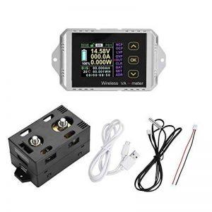 Akozon DC multimètre voltmètre écran LCD couleur sans fil DC ampèremètre de tension compteur de puissance testeur de tension numérique électrique(VAT-1100, 0-100A 0-100V) de la marque Akozon image 0 produit