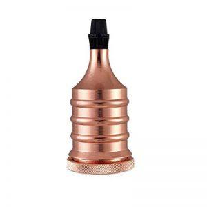 Alamp Vintage Support pour Ampoule E27 Douille Céramique Culot de Lampe en Cuivre Laiton de la marque Alamp image 0 produit