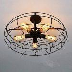 ALK E26E2722W ST64vintage Edison Tungsten Filament Cage d'écureuil ampoule à incandescence rétro Verre Clair Barre de lumière pour Home Party Source d'éclairage (22W) de la marque ALK image 4 produit