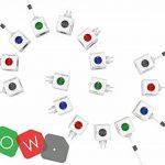 Allocacoc PowerCube Extended Type E Intérieur 5sortie(s) CA 1.5m Gris multiprise - Multiprises (Intérieur, 1,5 m, 5 Sortie(s) CA, Type E (FR), Gris, CE, KEMA FR) de la marque Allocacoc image 1 produit