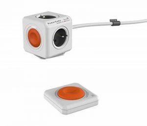 allocacoc PowerCube Remote Extended avec PowerRemote, Prise électrique télécommandée à 4 prises 230 V FR de la marque Allocacoc image 0 produit