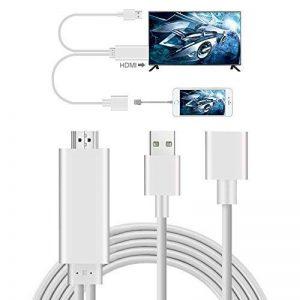 AMANKA Adaptateur Phone to HDMI Câble, Convertisseur MHL vers HDMI Digital AV Mirroring Full HD 1080p USB High Speed pour Phone Samsung et Pad Projecteur TV de la marque AMANKA image 0 produit