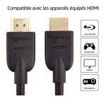 AmazonBasics Câble HDMI 2.0 haut débit Compatible Ethernet / 3D / retour audio [Nouvelles normes] 7,5m de la marque AmazonBasics image 2 produit