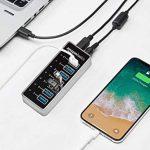AmazonBasics Hub USB-C 3.1 7 ports avec adaptateur secteur 36 W (12 V/3 A), Argenté, UE de la marque AmazonBasics image 1 produit