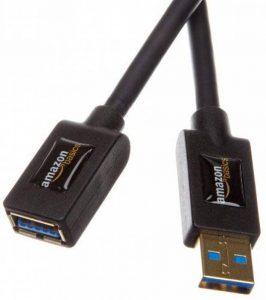 AmazonBasics Rallonge Câble USB 3.0 mâle A vers femelle A 3 m de la marque AmazonBasics image 0 produit