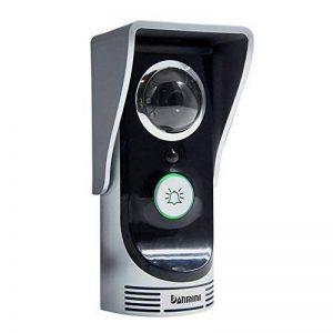 Amgaze Sonnette Video Interphone, Wi-FI Caméra, Vision Nocturne de PIR Détection de Mouvement Smartphone Home Security Surveillance de la marque Amgaze image 0 produit