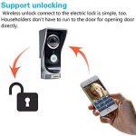 Amgaze Sonnette Video Interphone, Wi-FI Caméra, Vision Nocturne de PIR Détection de Mouvement Smartphone Home Security Surveillance de la marque Amgaze image 2 produit
