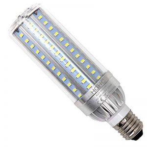 Ampoule de maïs de l'intense luminosité LED E27 25W, AC 85-265V (l'équivalent 250W) 2500LM 6000K Cool White, refroidissement de ventilateur en aluminium, Flickerless, pour l'éclairage de grande surface - Lampadaire d'entrepôt de garage de porche d'entrepô image 0 produit