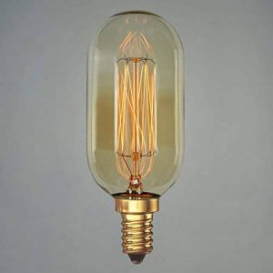 Ampoule Edison Vintage 40w 45mm - Radio à filament long Vintage Rétro Industrie E14 - The Retro Boutique de la marque The Retro Boutique image 0 produit
