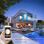 Ampoule intelligente - Fonctionne avec Alexa, Google Home, WiFi - Intensité variable - Interrupteur à minuterie - Multicolore - Pas de concentrateur nécéssaire - Télécommande - Mode scène - Fonction lumière de réveil., 2Pack de la marque Buycitky image 4 produit