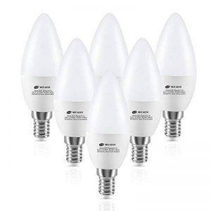 Ampoule LED E14 C37 6W, Seealle Ampoule e14 Bougie Équivalent à Ampoule Incandescente 60W, 600lm Ampoule LED Culot E14 , Blanc Chaud 2700k, Lot de 6 de la marque Seealle image 0 produit