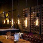 Ampoule LED Vintage XL E278W 640LM 2200K Goutte carbone Giant Big de la marque Underground Vintage Lamps image 2 produit