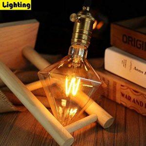 Ampoule LED, ZMH Ampoule vintage E27 St64 4W Equivalent à lampe incandescente 30W Blanc Chaud 3000K , 370 lumens, Angle de Faisceau 360° 220V Rétro Edison diamant Ampoule de la marque ZMH image 0 produit