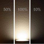 Ampoule spot LED GU105W–3niveaux Dimmable lumière Compatible avec interrupteur + Bouton poussoir–Sans Variateur, Tagesweiß (4000 K), GU10, 5.00W, 230.00V de la marque HAVA image 3 produit