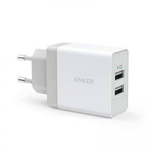 Anker Chargeur USB Secteur 24W 2 Ports Chargeur Mural Universel avec Technologie PowerIQ pour iPhone, iPad, Galaxy, LG, Nexus etc de la marque Anker image 0 produit
