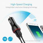 Anker PowerDrive Chargeur Voiture 2 USB 24W/4.8A 2 Ports USB - Chargeur Allume Cigare pour Android et Apple iPhone X / 8 / 8 Plus / 6s / 6s Plus / 6 / SE / 7 / 7 Plus / 5s / 5, iPad, Samsung Galaxy et autres de la marque Anker image 1 produit