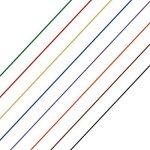 Anpro 280m 8 Fils 30AWG Rouleau de Câble Fil Electrique Câble de test Wrapping En Cuivre Etamé Isolant En PVC P/N B-30-1000 -8 couleurs pour du câblage électronique de la marque Anpro image 3 produit