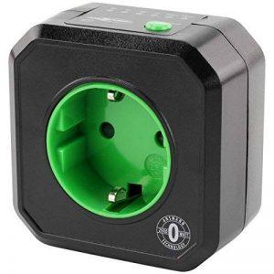 ANSMANN AES1 prise électrique avec minuterie / Prise économe en énergie avec minuterie pour appareils ménagers : radiateur soufflant, machine à café ou à laver etc. / Le temps de fonctionnement peut être réglé par la touche de fonction de la marque Ansman image 0 produit