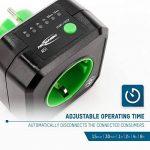 ANSMANN AES1 prise électrique avec minuterie / Prise économe en énergie avec minuterie pour appareils ménagers : radiateur soufflant, machine à café ou à laver etc. / Le temps de fonctionnement peut être réglé par la touche de fonction de la marque Ansman image 4 produit