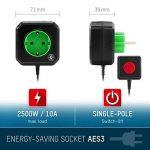 ANSMANN Coupe Veille pour prise électrique / économiseur d'énergie AES3 pour PC, ordinateur et accessoires de PC / installation facile par simple branchement de la marque Ansmann image 1 produit