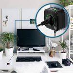 ANSMANN Coupe Veille pour prise électrique / économiseur d'énergie AES3 pour PC, ordinateur et accessoires de PC / installation facile par simple branchement de la marque Ansmann image 2 produit