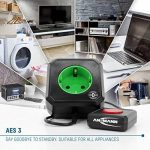 ANSMANN Coupe Veille pour prise électrique / économiseur d'énergie AES3 pour PC, ordinateur et accessoires de PC / installation facile par simple branchement de la marque Ansmann image 3 produit