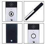aolvo Voice Intercom sans fil sonnette de porte, Smart Voice Intercom sans fil doorbells 200m Espacement entre le émetteur + récepteur intérieur extérieur Silber de la marque Aolvo image 1 produit