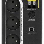 APC Back-UPS BX - BX700U-FR - Onduleur 700VA (AVR, 3 Prises FR, USB, Logiciel d'arrêt) de la marque APC BY SCHNEIDER ELECTRIC image 1 produit