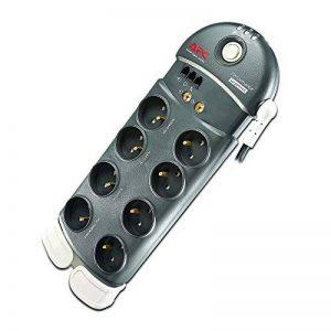 APC Surge Arrest Performance - PL8VT3-FR - 8 prises - 1 prise compatible CPL - protection coaxiale et téléphonique de la marque APC BY SCHNEIDER ELECTRIC image 0 produit
