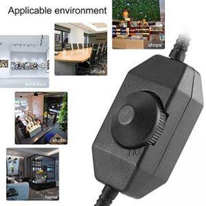 Apellin 1PC arrivée DC 12V-24V contrôle Inline Manuel Variateur d'intensité pour LED Bande lumière Home Office magasins Accessoire de lumière de la marque Apellin image 0 produit