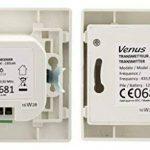 Appareillage encastrable Va et Vient sans Fil Blanc de la marque Venus image 2 produit