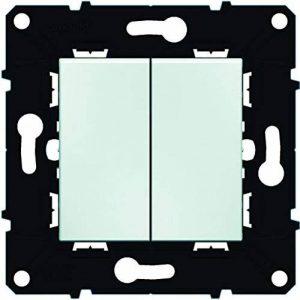 Arnould ARN51001 Interrupteur Va-et-Vient double 10 A Espace Evolution Enjoliveur Blanc de la marque Arnould image 0 produit