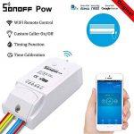Asiproper POW 16A/3500W Wifi sans fil Smart Swtich Mesure de consommation électrique de la marque Asiproper image 1 produit