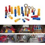 Asiv Cosses électriques, 300pcs Kits de Connecteurs Plats Isolés, Bornes de Sertissage avec Boîte de Rangement de la marque Asiv image 4 produit