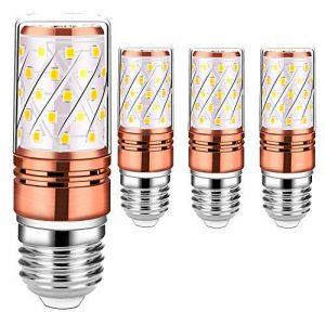 Auban Ampoules LED Or Rose Ampoules LED Or Blanc Chaud E27 Ampoules à Incandescence de 12W 2700-3000K 100W Equivalent à 880Lm, Sans Scintillement, Sans Stroboscope (4 Packs) de la marque Auban image 0 produit