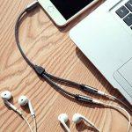 Audio Y Câble répartiteur avec prise Jack 3,5 mm vers 2 prises jack 3,5 mm stéréo pour iPhone 7 6 6s plus Samsung Galaxy S8, Huawei, HTC, Nokia Lumia, Sony, LG, Android Smartphone Android, tablettes, etc. de la marque VICTECK image 4 produit