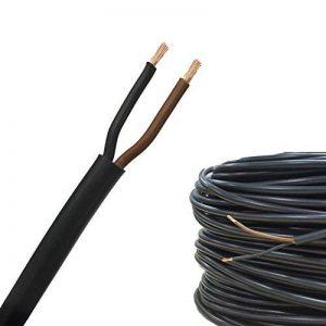 AUPROTEC 50m Câble Multiconducteur FLYY 2 x 1,5 mm² cable électrique pour application automobile: 50m Câble rond de la marque AUPROTEC image 0 produit