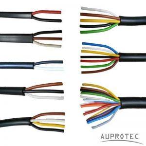AUPROTEC Câble Multiconducteur 2 - 13 fil Câble électrique au mètre pour application automobile choix: 13 fils 13 x 1.5 mm² câble rond de la marque AUPROTEC image 0 produit