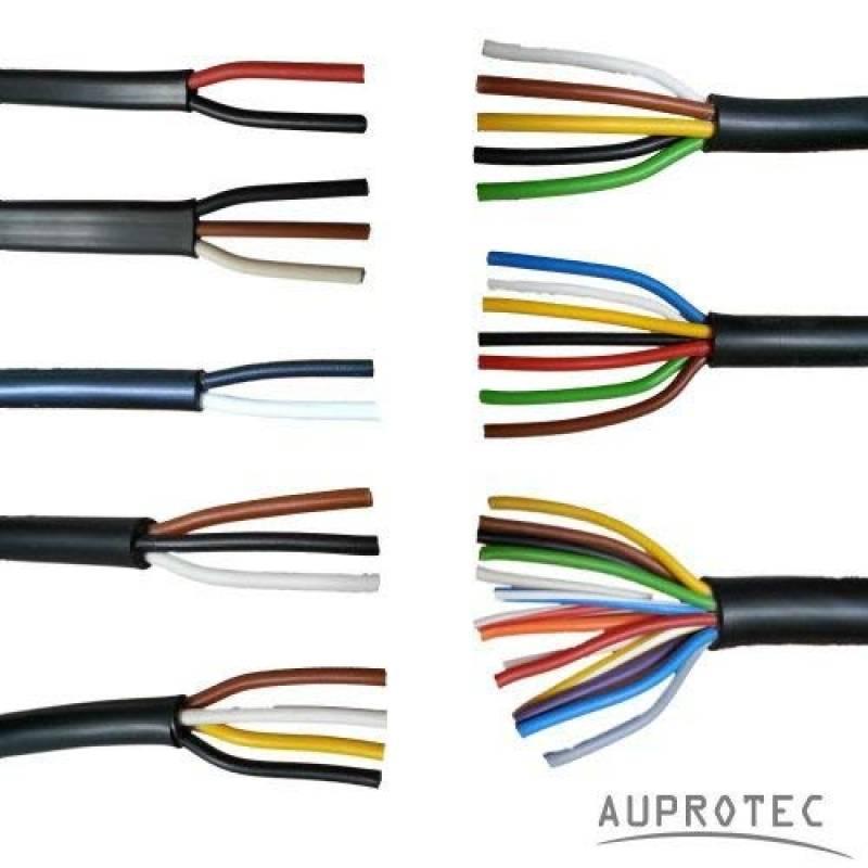 7 Core fil câble 5m bobine pour remorques et de qualité automobile Caravane T