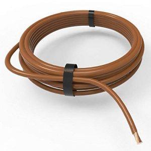 Auprotec® Câble unipolaire 0,35 mm² FLRY-B Fil Électrique en anneau: 5m, marron de la marque Auprotec® Automotive Wires image 0 produit