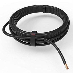 AUPROTEC Câble unipolaire 1,5 mm² FLRY-B Fil Électrique en anneau: 5m, noir de la marque AUPROTEC image 0 produit
