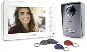 'Avidsen–112249bi-famille à couleurs LCD 3,5interphone vidéo 4fils de la marque Avidsen image 0 produit