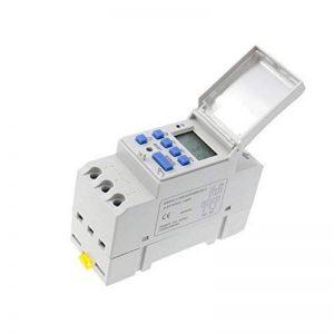 Baoblaze Programmateur Interrupteur Dc Relais Écran LCD Minuterie Numérique - Blanc 24 v de la marque Baoblaze image 0 produit