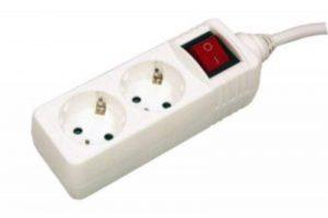 Base multiple 2prises avec interrupteur et terre. Bloc 3m de câble de la marque ElectroDH image 0 produit