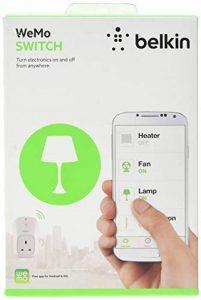 Belkin WeMo Smart Home avec Insight Interrupteur à distance de surveillance d'énergie pour Apple iPhone et appareils Android (contrôle par application contrôlée) Bouton de la marque Belkin image 0 produit