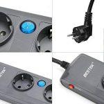 BESTEK Multiprise Rallonge Electrique 4 Prises 4 Interrupteurs individuels Cordon de 1.8m, 4000W/16A de la marque BESTEK image 4 produit