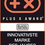 BLACK+DECKER ASD184KB-QW Perceuse visseuse Autosense sans fil - 18V - 1,5 Ah - Lithium-ion - 28 Nm - 0-800 trs/min - 2 batteries - Chargeur inclus - Livrée en coffret - Mandrin autoserrant 10 mm de la marque Black & Decker image 1 produit