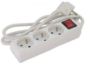 Bloc 3 prises standard - Avec interrupteur - Cordon 3G 1,5 mm² - Dhome de la marque DHOME image 0 produit